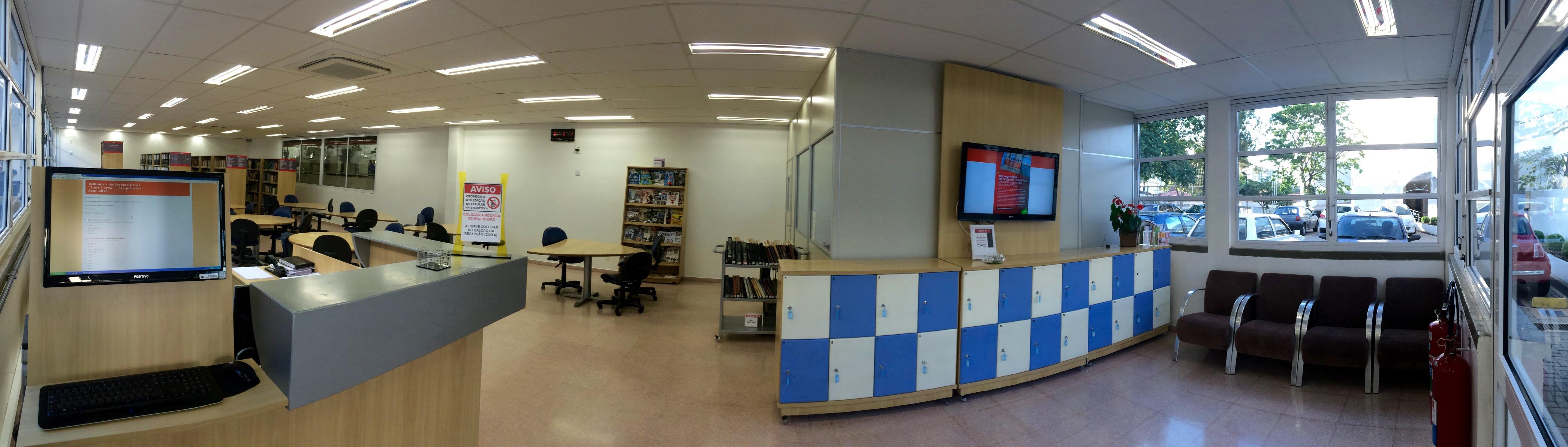 Fachada da Biblioteca